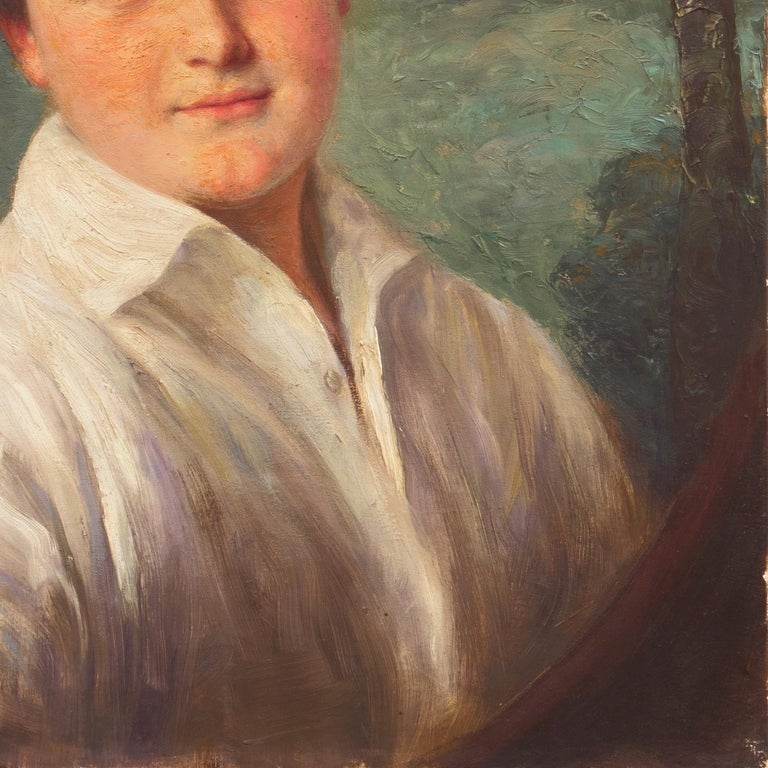 'Portrait of a Young Man', Munich Royal Academy, National Museum of American Art For Sale 1