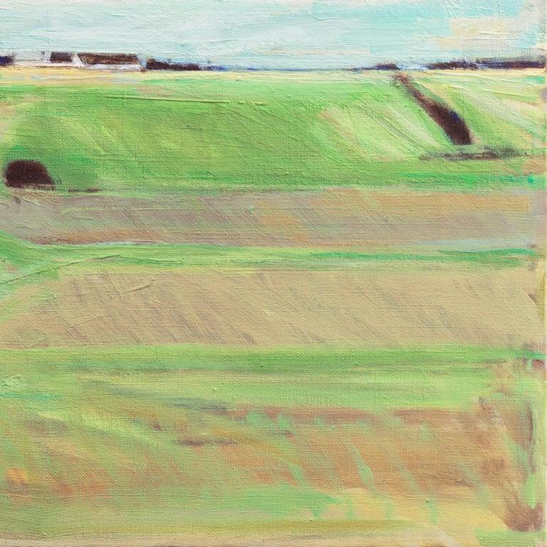 September Landscape   (Impressionism, Country, Denmark, Danish, Abstraction) For Sale 1