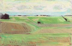 September Landscape   (Impressionism, Country, Denmark, Danish, Abstraction)