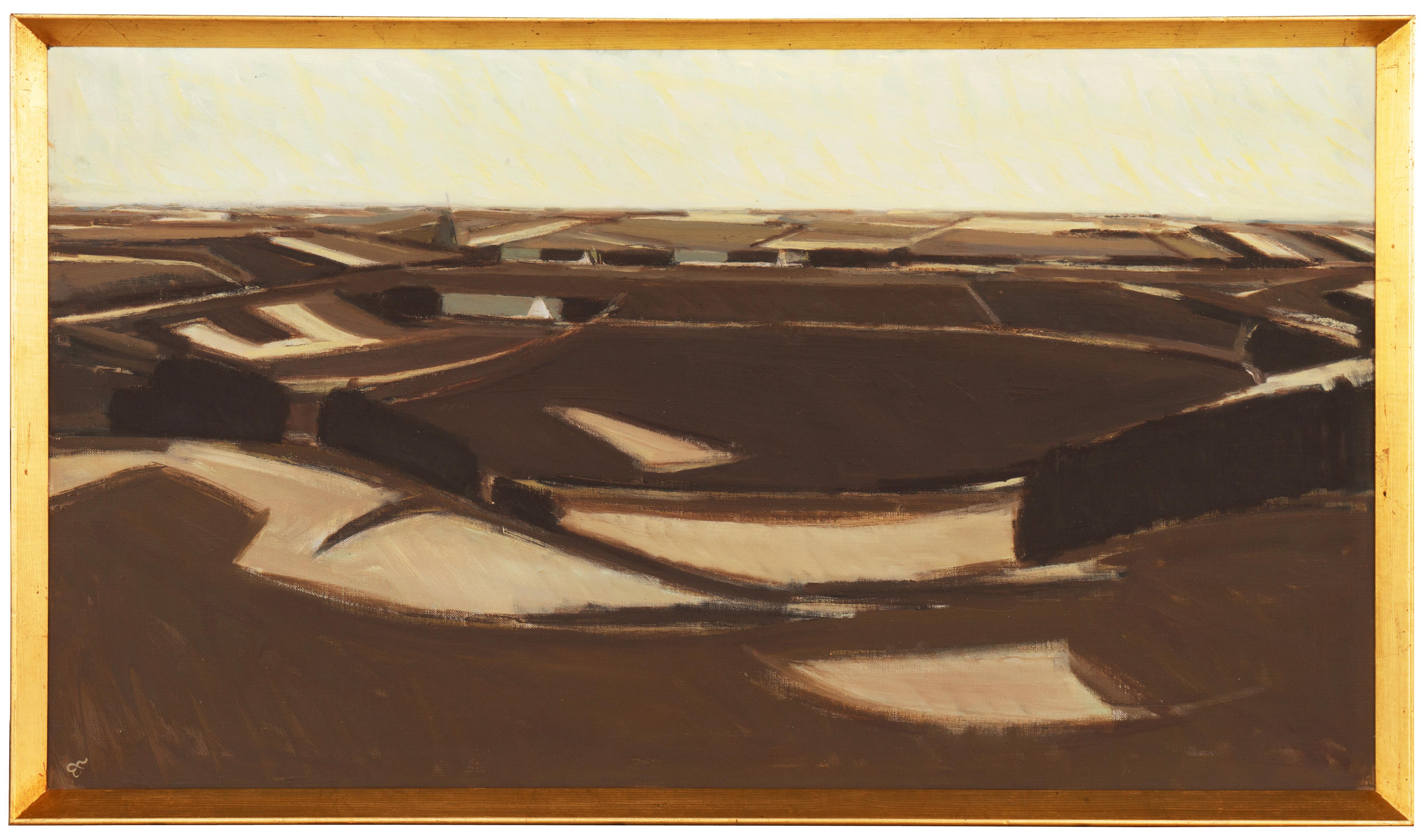 'Spring Landscape', Copenhagen Academy of Art, Charlottenborg Palace Gallery