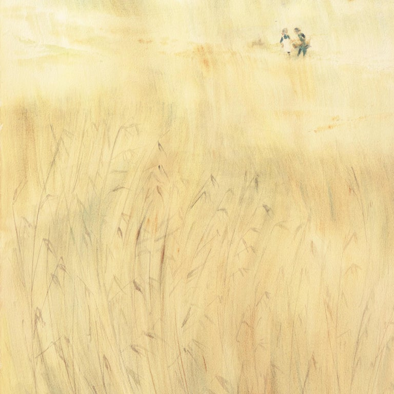 The Field Trip   (California, Modernism, Woman Artist, Genre, Carmel, WPA) For Sale 1