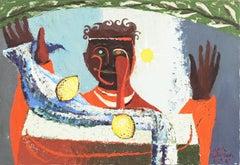 The Juggler   (Woman Artist, Modernism, Post-Impressionism)