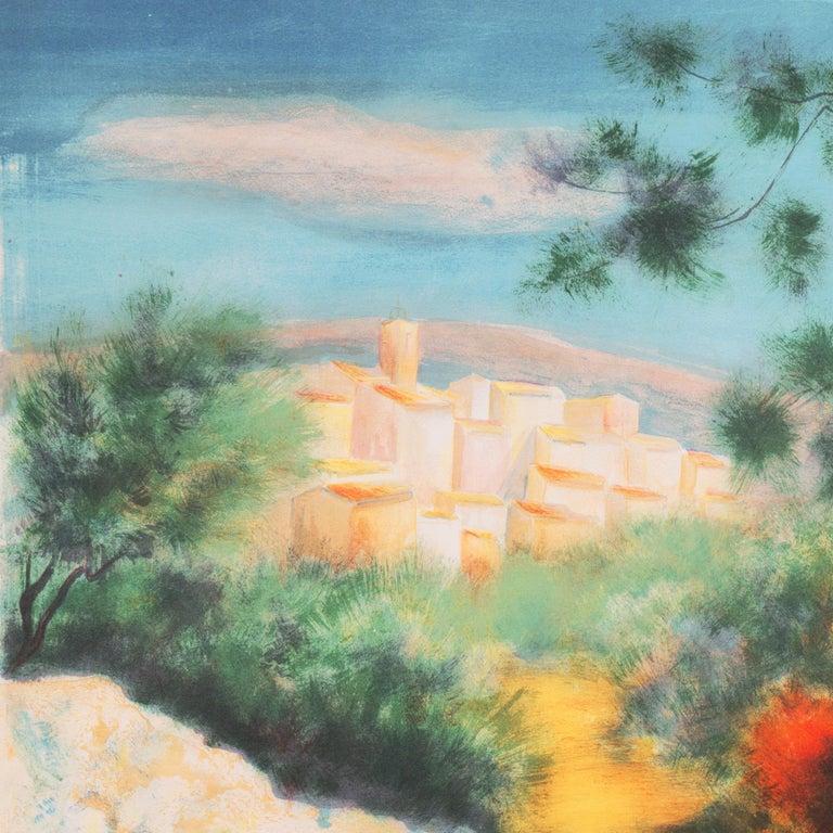 'Chemin des Bastides, Aix-en-Provence', Côte d'Azur, French Post-Impressionist For Sale 2