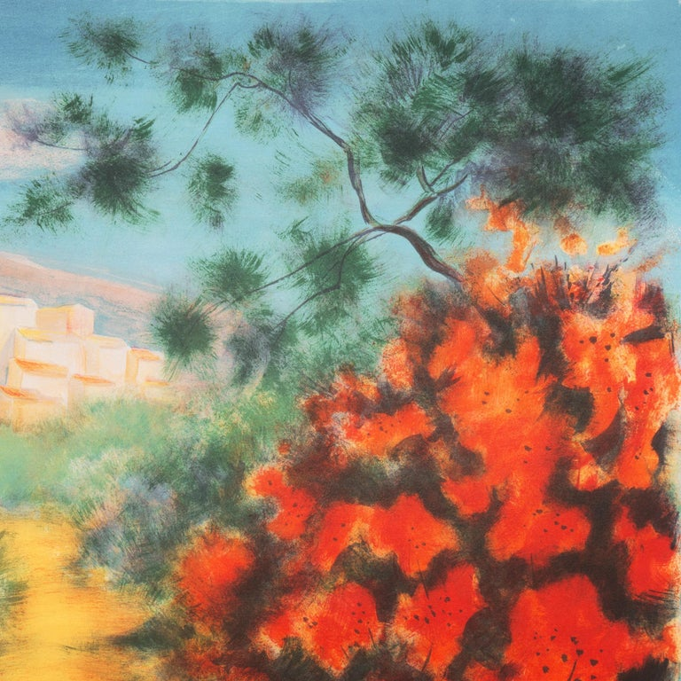 'Chemin des Bastides, Aix-en-Provence', Côte d'Azur, French Post-Impressionist For Sale 4