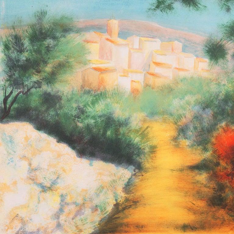 'Chemin des Bastides, Aix-en-Provence', Côte d'Azur, French Post-Impressionist For Sale 3