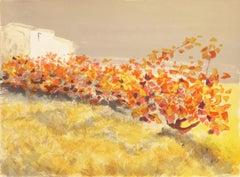 'Provençal Vineyard', French Post-Impressionist Landscape, Paris Academie Julian