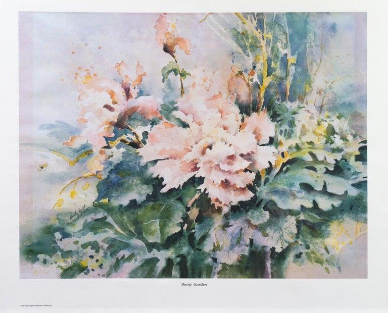 'Water Lilies', California Watercolor Society, SWA, Woman Artist, Zoltan Szabo For Sale 5
