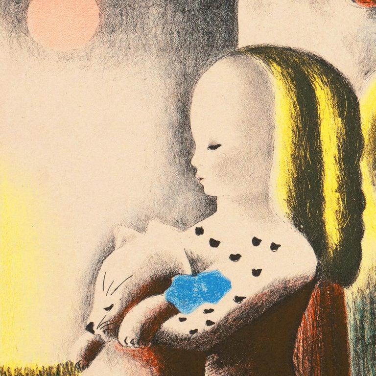 Art Deco, 'Anabel & Millicent', Woman Artist, AIC, ASL, Paris, Salon d'Automne For Sale 1