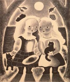 Art Deco Sisters, 'Peggy and Dot', Woman Artist, AIC, Paris, Salon d'Automne