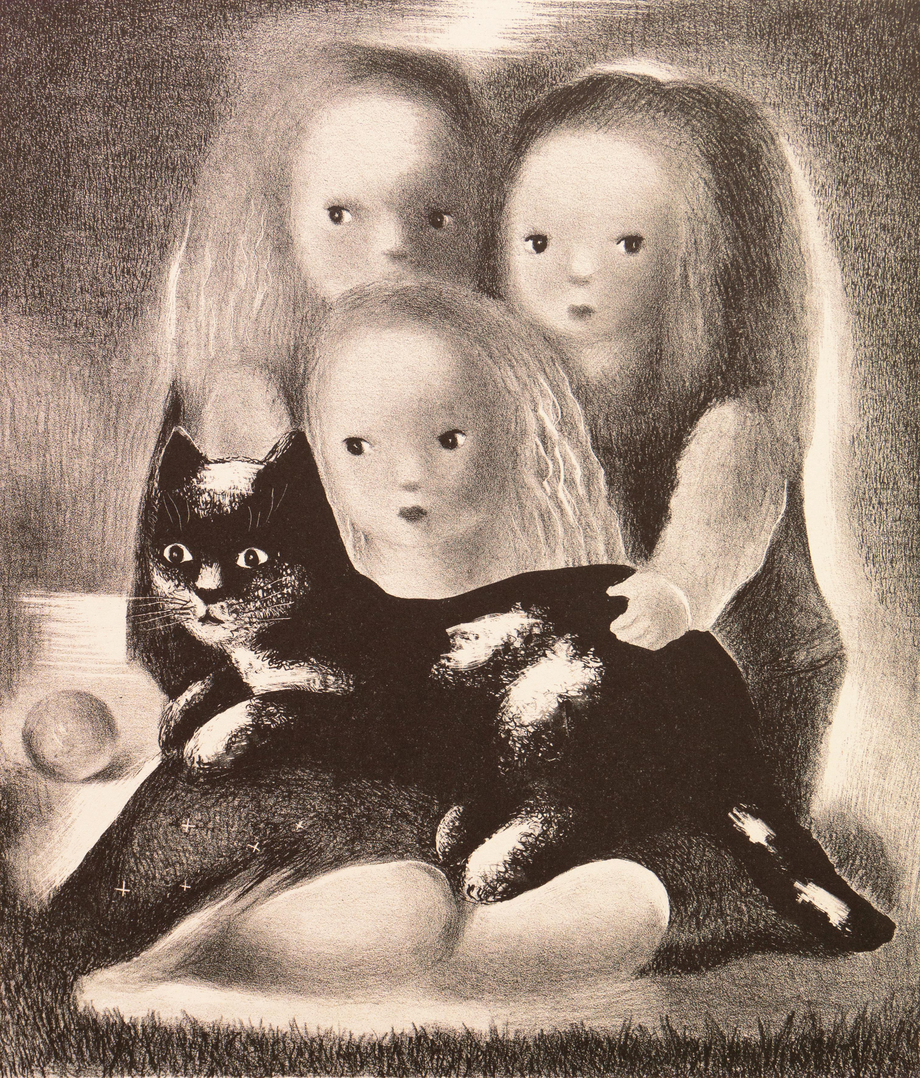 'Family Portrait', AIC, Paris Salon d'Automne, Art Deco American Woman Artist