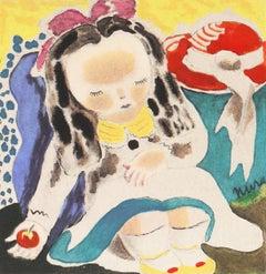 Lazy Bones   (Modernism, Woman Artist, Art Deco, thirties, forties)