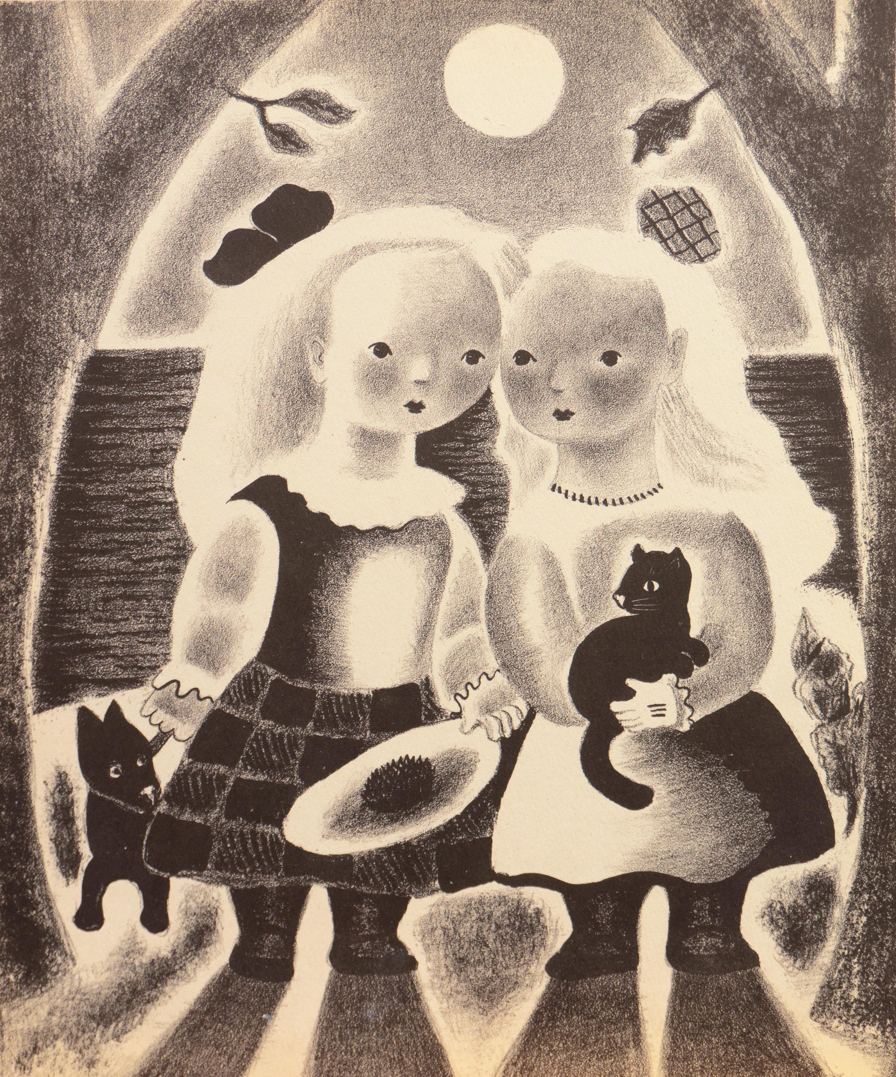 'Peggy and Dot', Chicago Academy of Fine Arts, Art Students League, Smithsonian