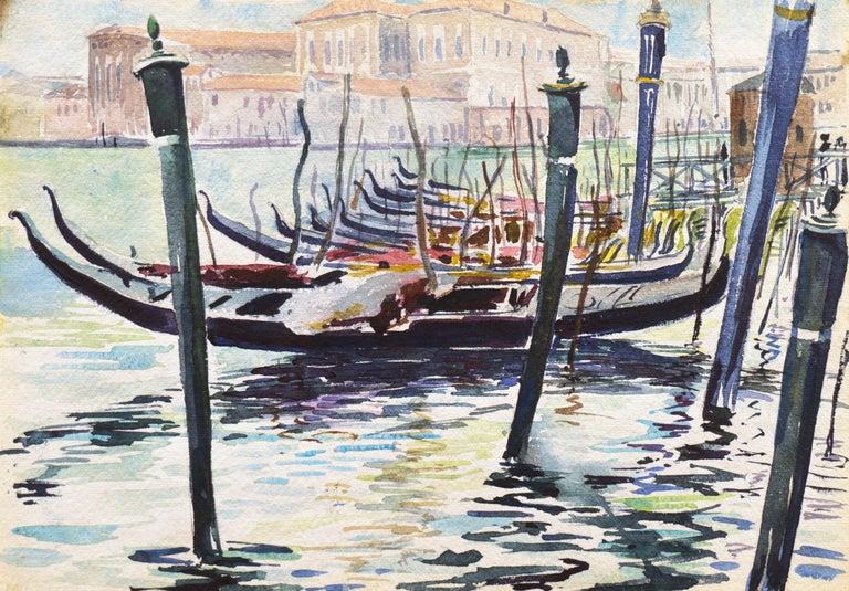 Ralph Fanning Landscape Art - 'View of Venice', NWS, PAFA, Art Institute Chicago, Ohio University