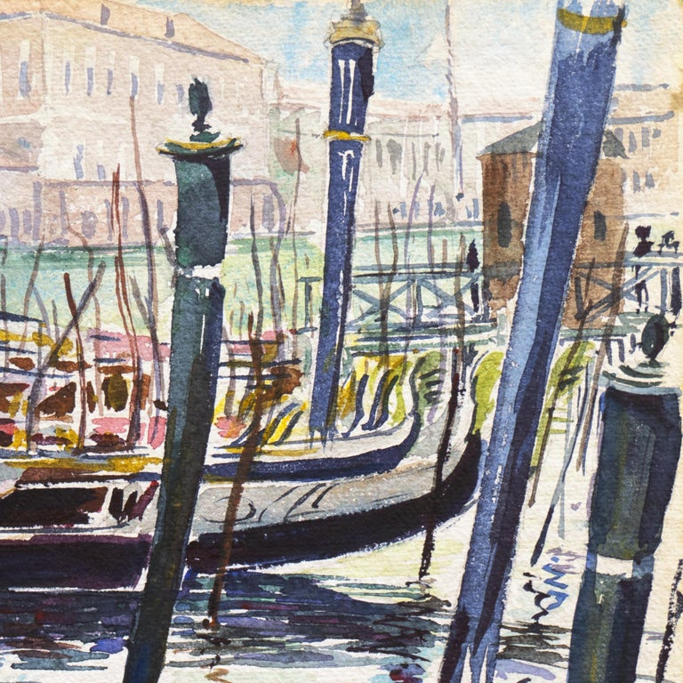 'View of Venice', NWS, PAFA, Art Institute Chicago, Ohio University For Sale 1