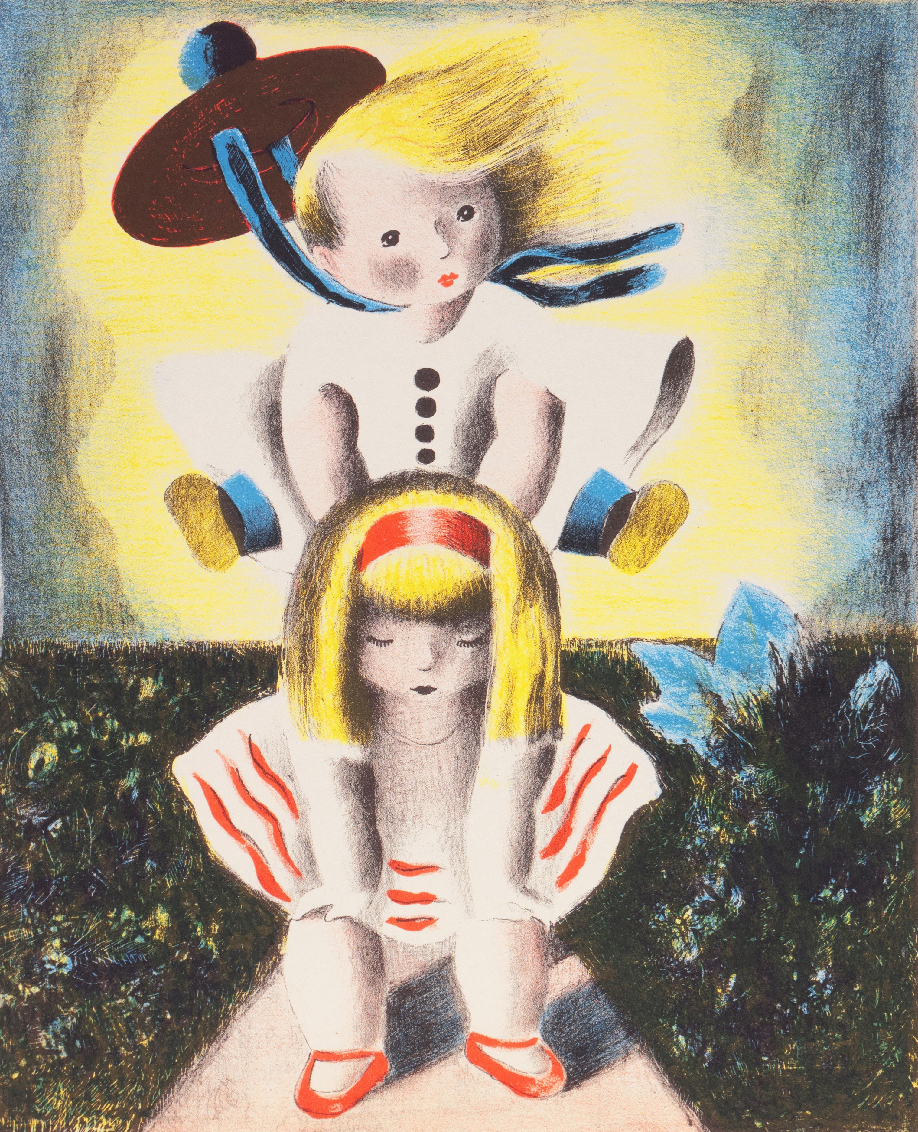 'Greta and Grace', girls, Modernism, Woman Artist, Art Deco, Smithsonian, Paris