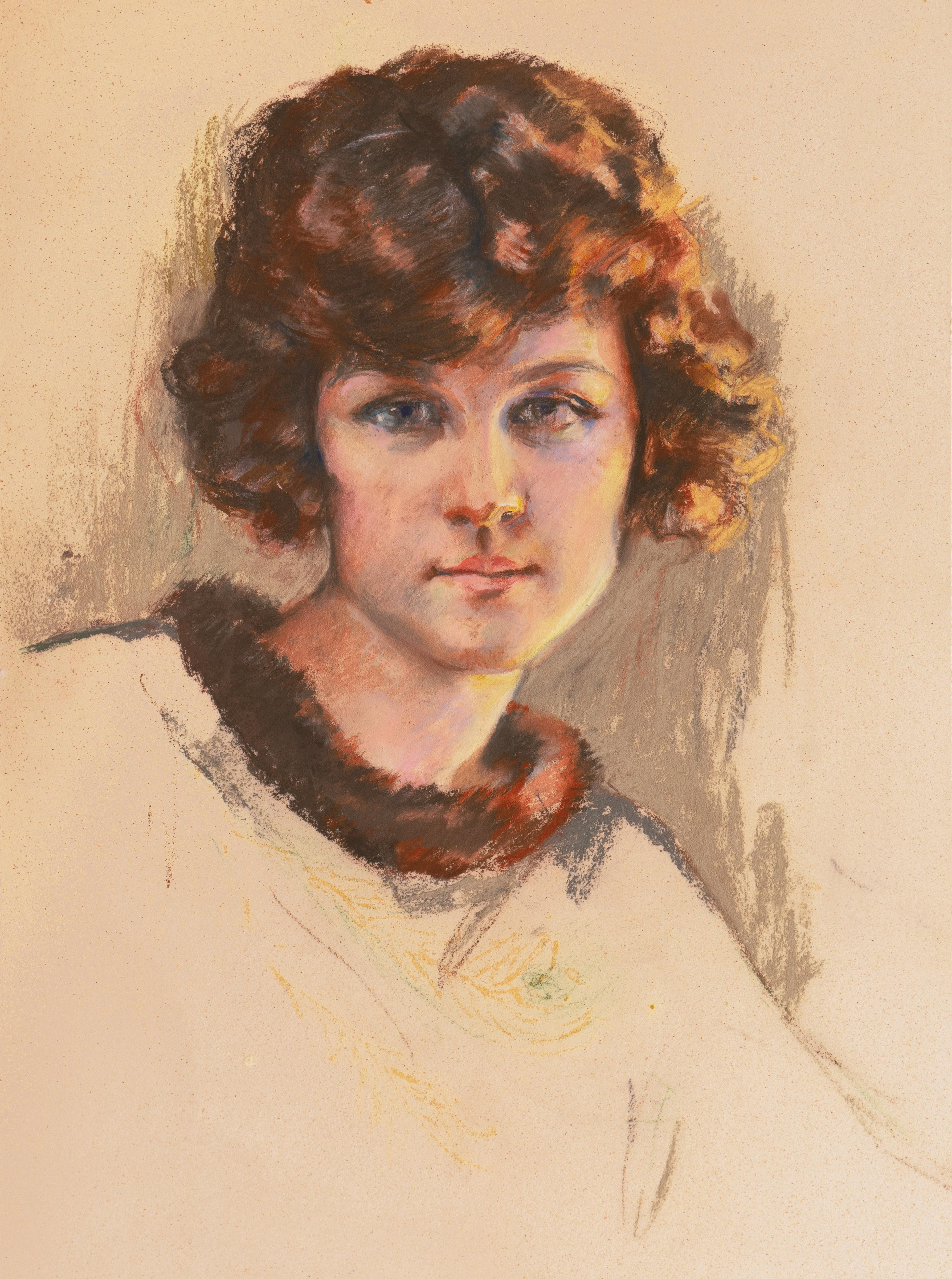 'Vancouver Girl', Young Woman with Bobbed Copper Hair, AIC, Paris, New York
