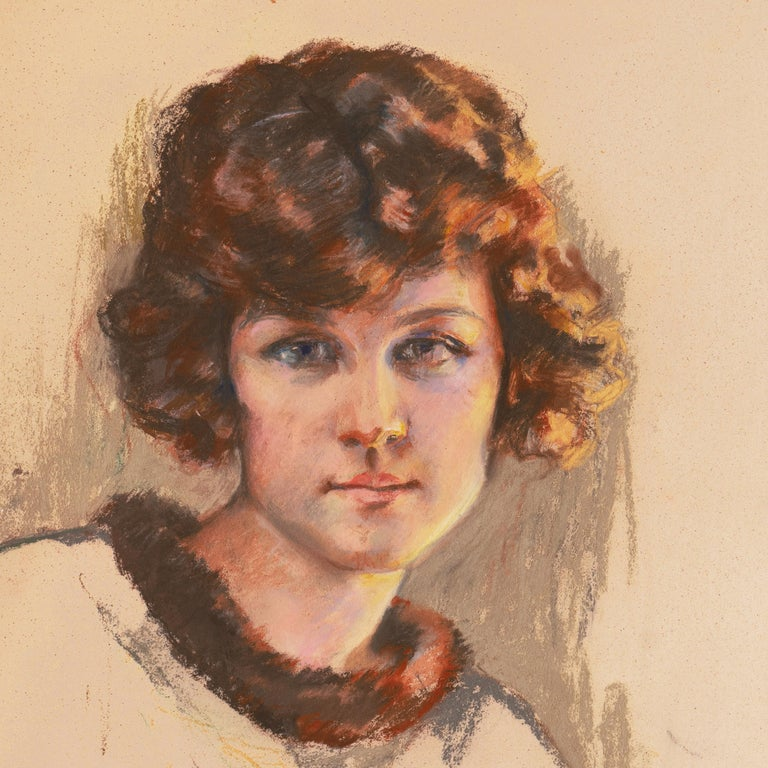 Twenties Study, Young Woman with Bobbed Hair titled 'Vancouver Girl', AIC, Paris For Sale 1