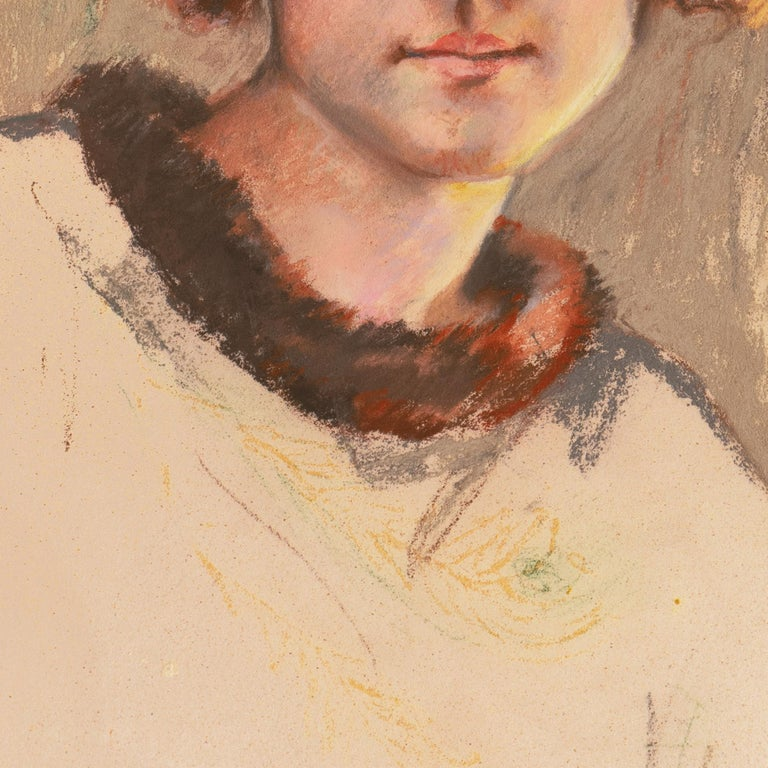 Twenties Study, Young Woman with Bobbed Hair titled 'Vancouver Girl', AIC, Paris For Sale 2