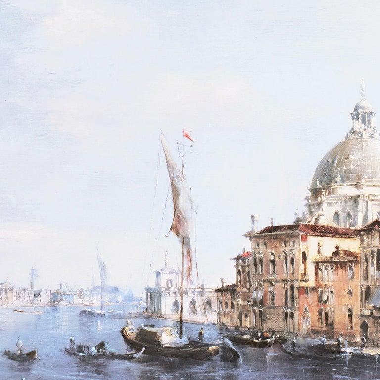 Santa Maria della Salute from the Cannaregio Canal, Venice (Venetian Vedute) For Sale 2