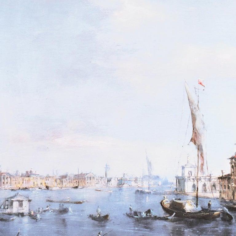 Santa Maria della Salute from the Cannaregio Canal, Venice (Venetian Vedute) For Sale 3