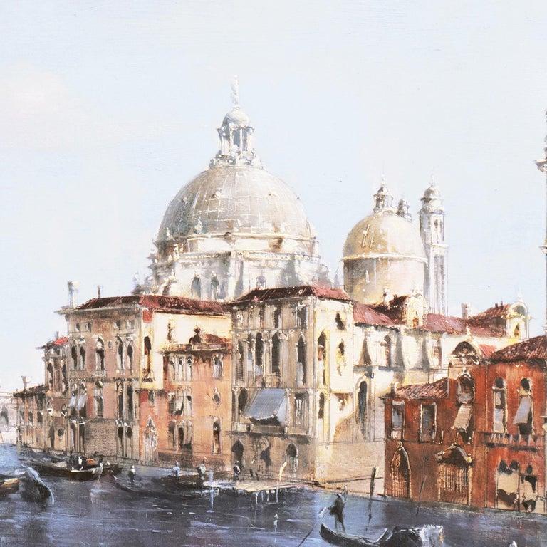 Santa Maria della Salute from the Cannaregio Canal, Venice (Venetian Vedute) For Sale 1