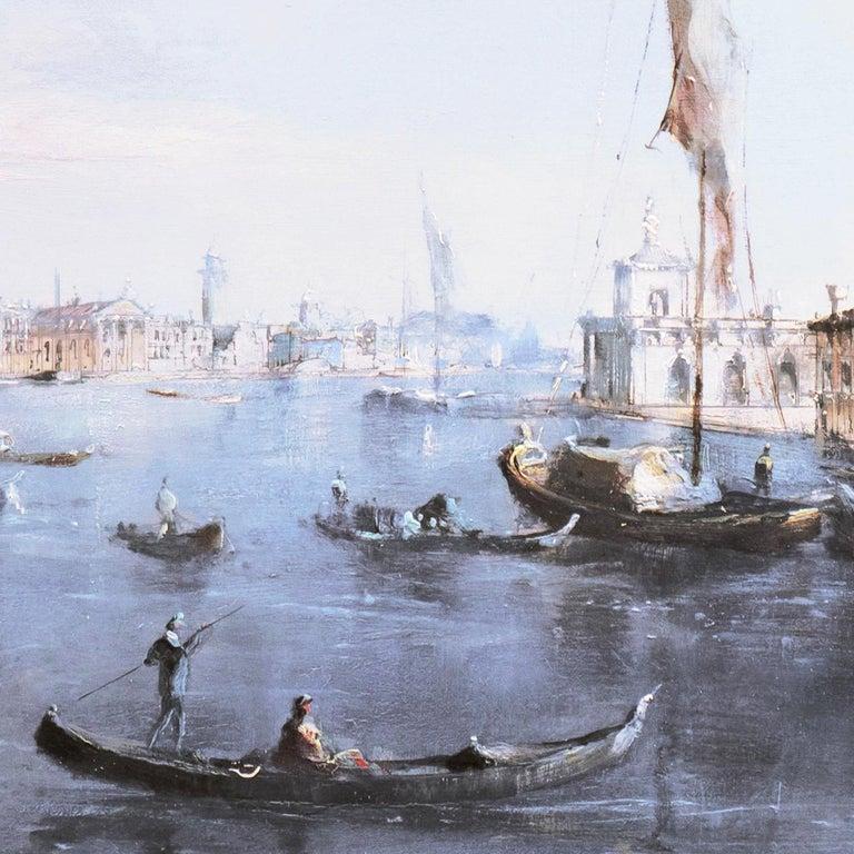 Santa Maria della Salute from the Cannaregio Canal, Venice (Venetian Vedute) For Sale 4