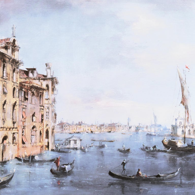 Santa Maria della Salute from the Cannaregio Canal, Venice (Venetian Vedute) For Sale 5