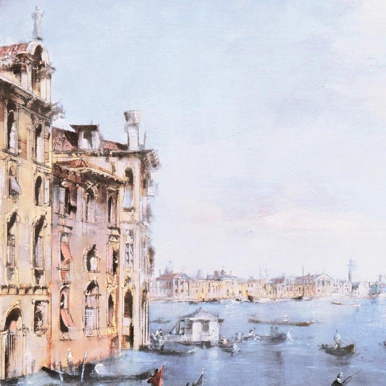 Santa Maria della Salute from the Cannaregio Canal, Venice (Venetian Vedute) For Sale 7