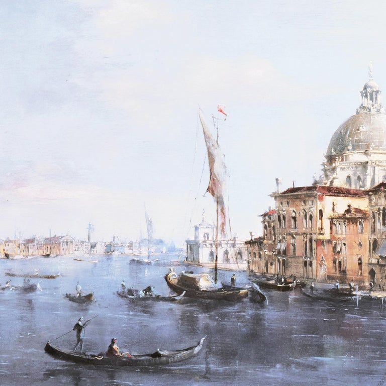 Santa Maria della Salute from the Cannaregio Canal, Venice (Venetian Vedute) For Sale 9