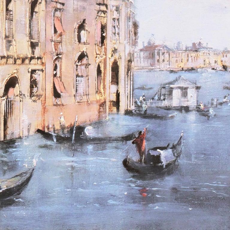 Santa Maria della Salute from the Cannaregio Canal, Venice (Venetian Vedute) For Sale 12