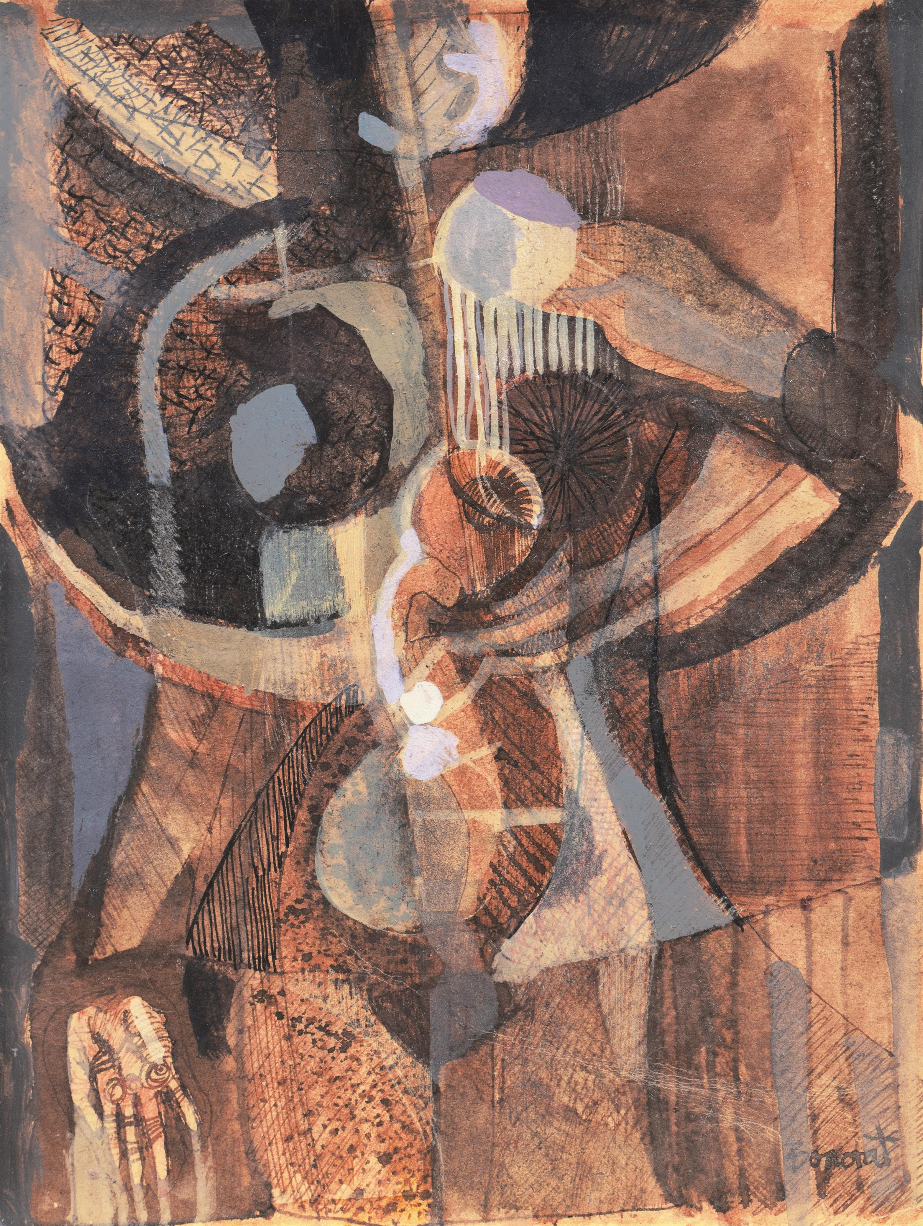 Abstracted Figure