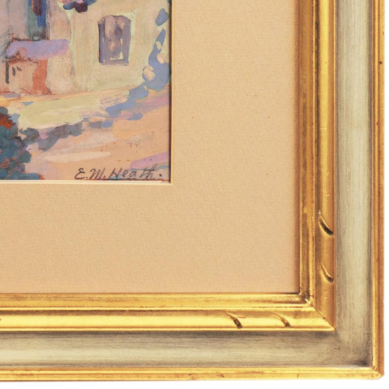 Early Impressionist View of the Old Carmel Mission, California  For Sale 2