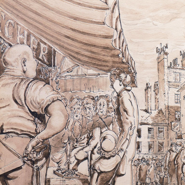 'The Enduring Attractions of the Open Market', Capitalism Satire For Sale 3