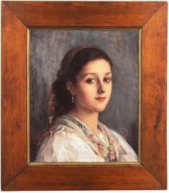 'Young Parisienne', Royal Academy of Arts, Academie Colarossi, Jeu-de-Paume