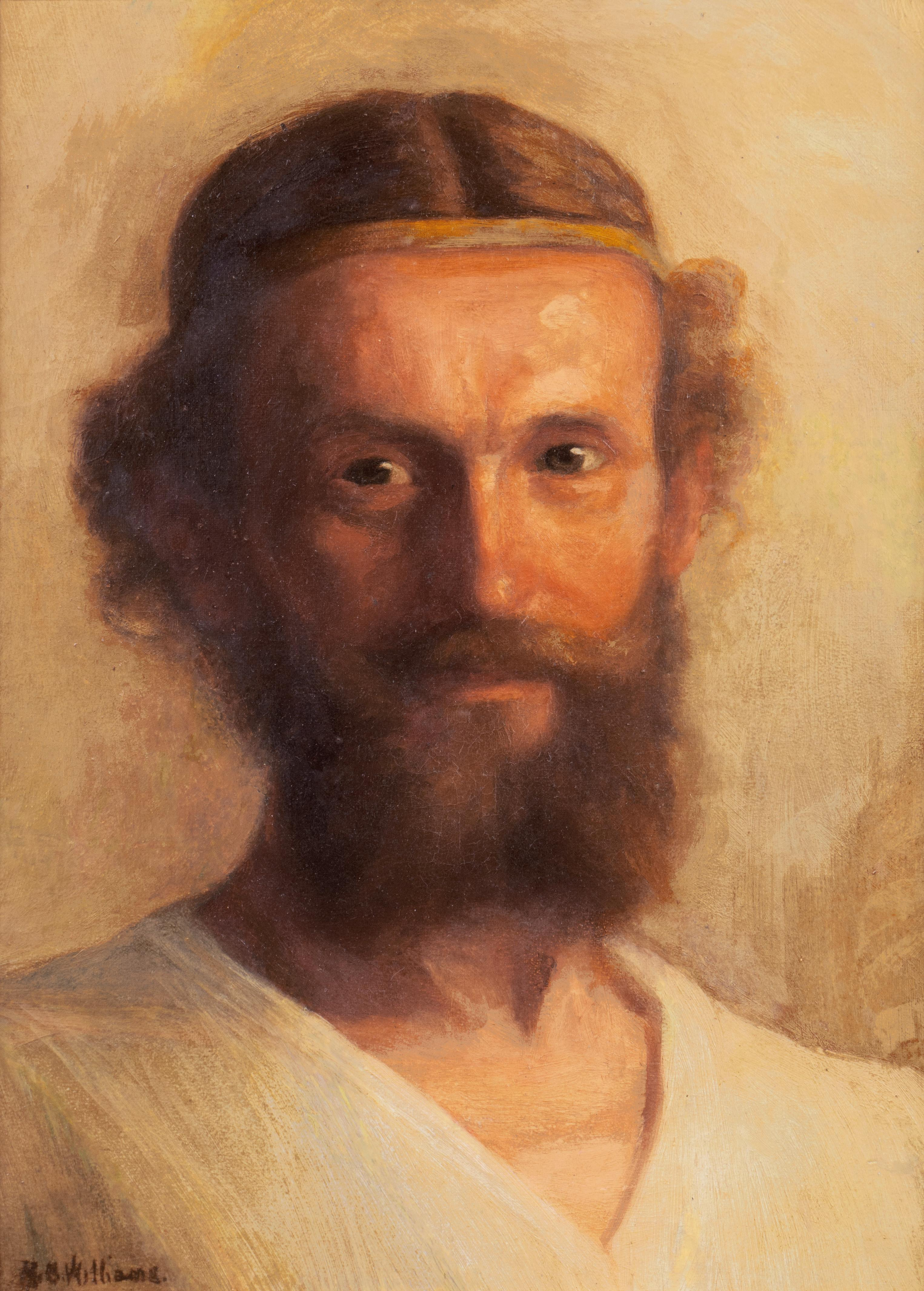 'Prophet', Chouinard Art Institute, Biblical, Old Testament, Early Christian
