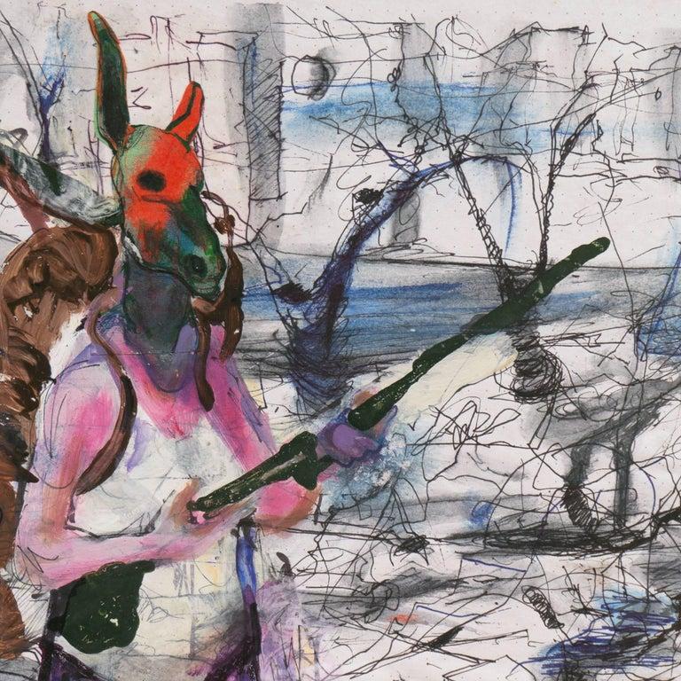 'Dystopian Urban Figural', San Francisco Art Institute For Sale 2