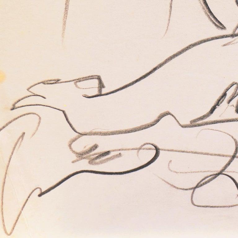 'Reclining Nude' California Post-Impressionist, Louvre, Paris, Carmel LACMA SFAA For Sale 1