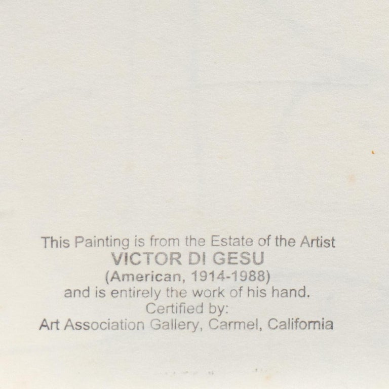'Reclining Nude' California Post-Impressionist, Louvre, Paris, Carmel LACMA SFAA For Sale 4