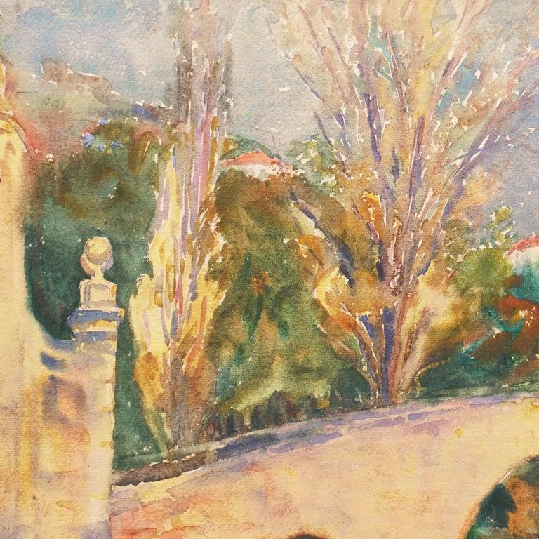 'Bridge in Segovia', Woman Artist, Paris Salon, Cooper Union, ASL, PAFA, AWS,   For Sale 3
