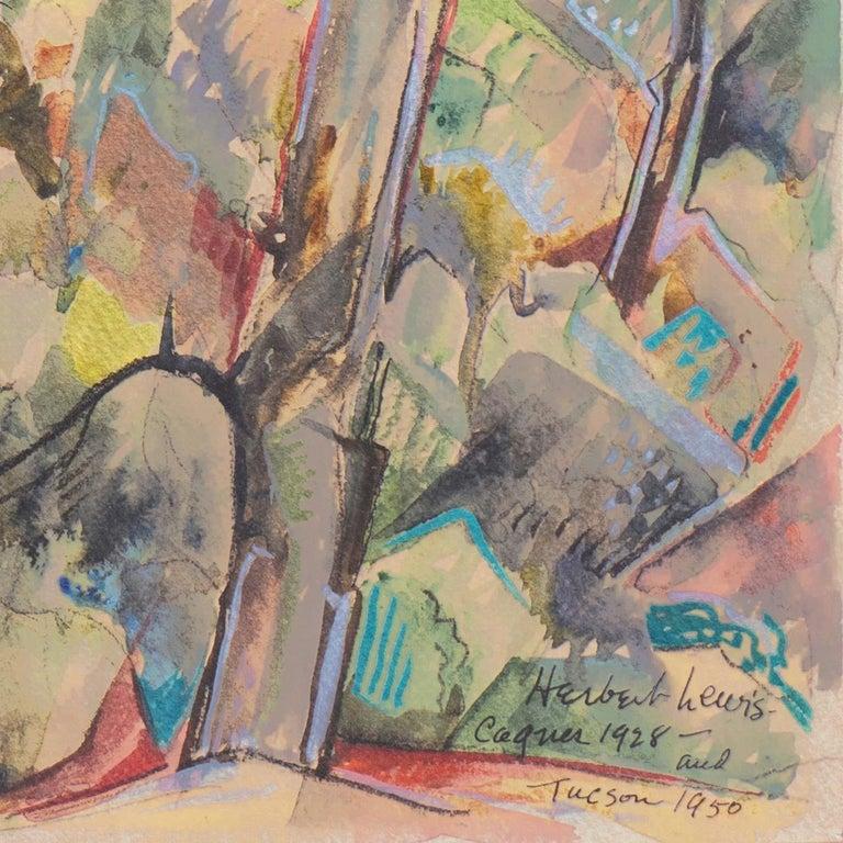 'After the Storm', Carmel, California, Paris, Academie Julian, New York, AIC - Art by Herbert Lewis