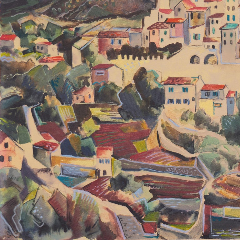 'After the Storm', Carmel, California, Paris, Academie Julian, New York, AIC For Sale 1