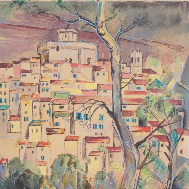 'After the Storm', Carmel, California, Paris, Academie Julian, New York, AIC - Brown Landscape Art by Herbert Lewis