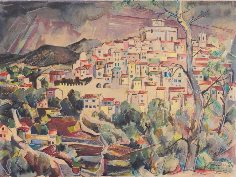 Herbert Lewis Landscape Art - 'After the Storm', Carmel, California, Paris, Academie Julian, New York, AIC