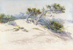 'Sand Dunes', Early California Woman Artist, William Keith