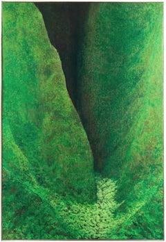 'Koʻolau, Oahu, Hawaii', Woman Artist, Chouinard, Honolulu Academy of Arts Oil