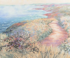 'Rolling Mist off the Coast', Arizona Woman Artist, Carnegie Foundation
