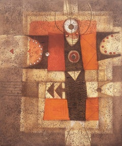 'Metamorfosi', Geometric Abstract, Berkeley, Rome, Native American, Navajo, Hopi