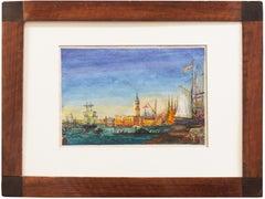 'Venice, Bacino di San Marco', Venetian Vedute, St. Mark's Place, Santa Maria