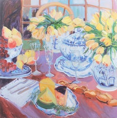 'A Feast Fit for a Queen', California College of Arts & Crafts, Large Still Life