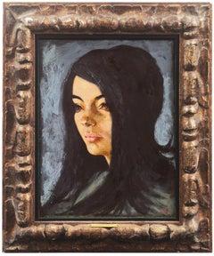 'Portrait of a Young Woman', Philadelphia Modernist, PAFA, Baum School of Art